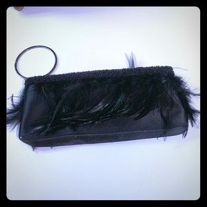 La Regale Black Clutch/Wristlet